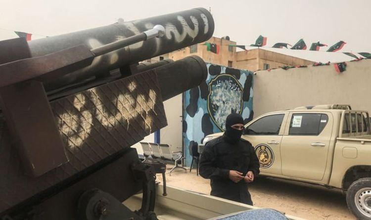 Libya civil war rages: Explosions and gunfire at airport in
